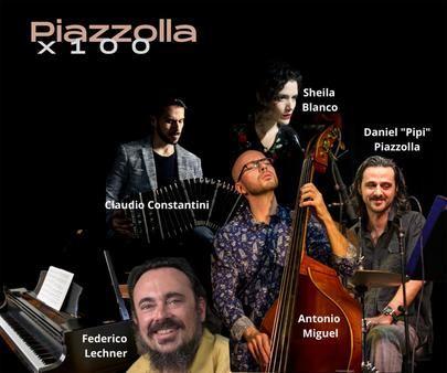 Homenaje al compositor argentino Astor Piazzolla