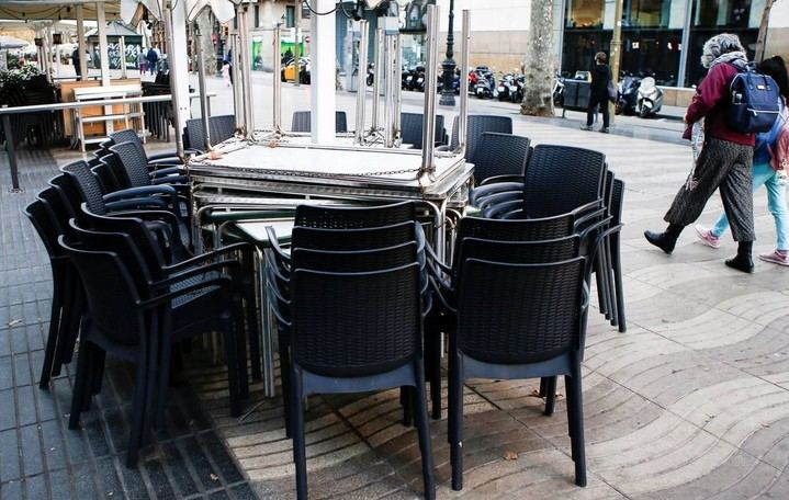 Madrid decreta la suspensión de terrazas de hostelería y restauración