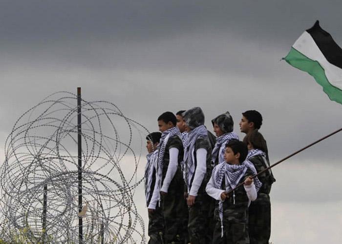 Sanse celebra el Día de la Tierra Palestina