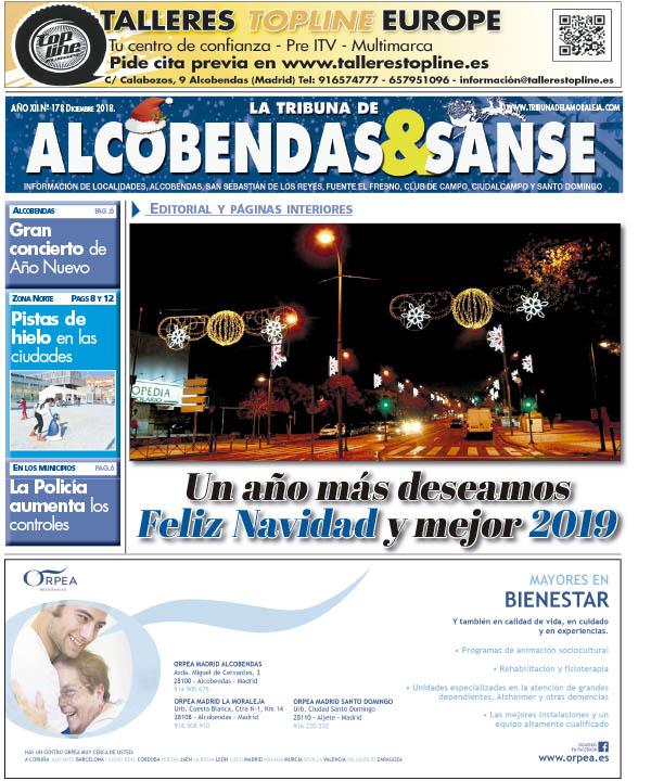 Consulta el número de diciembre de La Tribuna de Alcobendas y San Sebastián de los Reyes