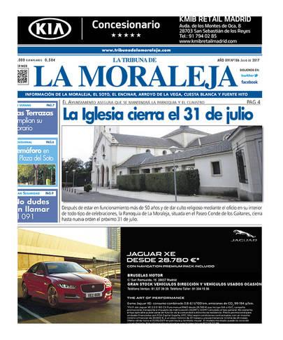 Ya esta en la calle el número de julio de La Tribuna de La Moraleja