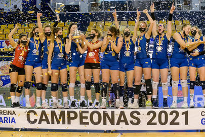 El Feel Volley Alcobendas gana la Copa de la Reina