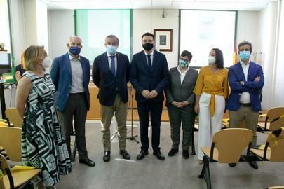 El Consejero de Justicia visitó la sede el Partido Judicial de Alcobendas
