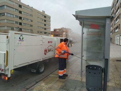 Sanse intensifica la desinfección de Coronavirus en sus espacios públicos y en vehículos con once cañones de ozono