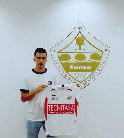 Jaime Paredes séptimo fichaje del Sanse 2020/21