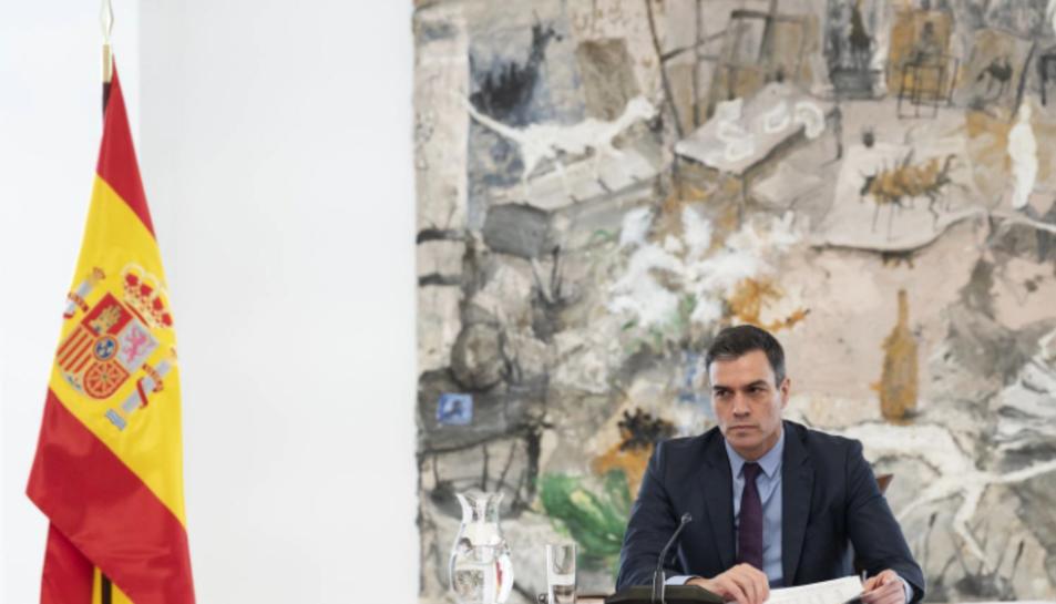 Pedro Sánchez prorroga dos semanas más el estado de alarma