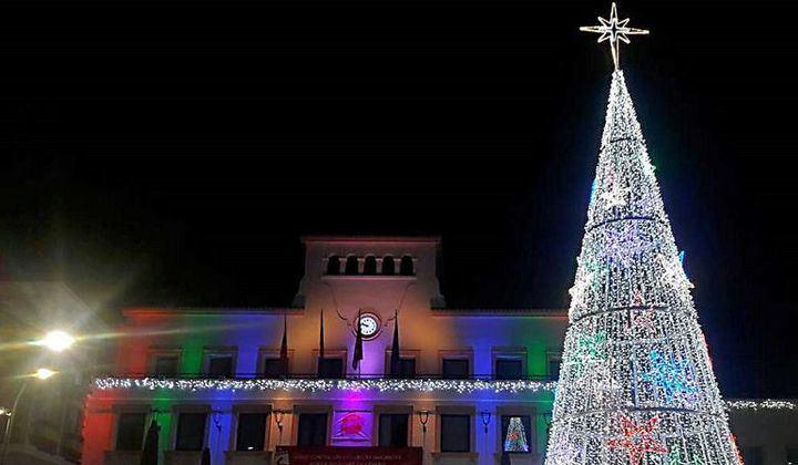Sanse enciende las luces de Navidad este fin de semana