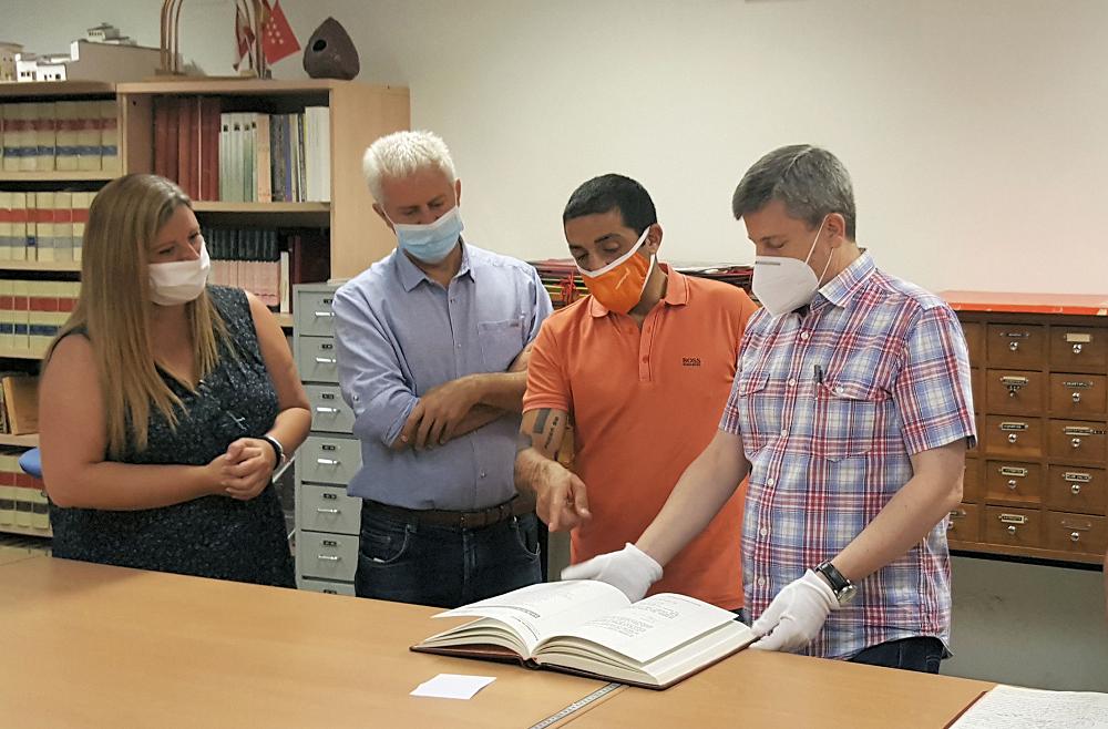 Más de 90.000 documentos históricos de Sanse digitalizados a disposición de investigadores e historiadores