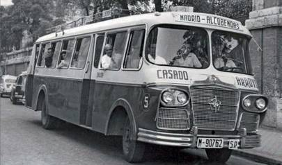 Alcobendas muestra sus primeros autobuses