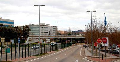 Obras en la Avenida de la Transición Española de Alcobendas