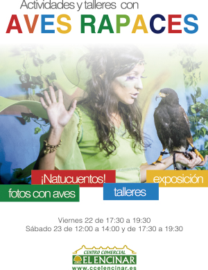 Actividades y talleres con Aves Rapaces