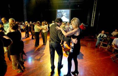Imagen de los Bailes de Salón que se celebran en La Esfera