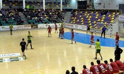 Imagen del partido disputado en el pabellón Fernando Arguelles de Antequera