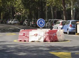 Imagen de la rotonda incorporada a la calle Begonia del Soto
