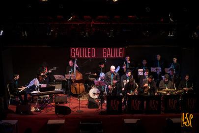 Imagen del concierto celebrado por la SP Big Band el pasado 28 de enero en la sala Galileo Galilei