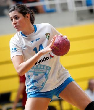 Derrota de las chicas del Helvetia BM Alcobendas en Valladolid (32-28)