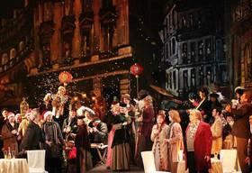 Imagen de la obra de teatro Boheme que se va a representar en el Teatro Adolfo Marsillach