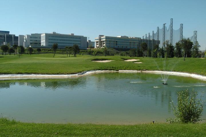 'Placa al mérito del golf' a Golf Park