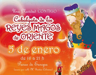 La cabalgata de Reyes se instalará en el Paseo de Europa