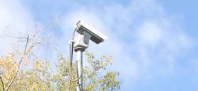 Cámara de seguridad y control de Tráfico en la glorieta del 'Amura'