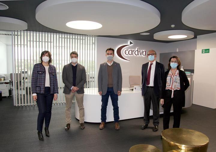 Alcobendas ofrece su apoyo a la empresa Cardiva