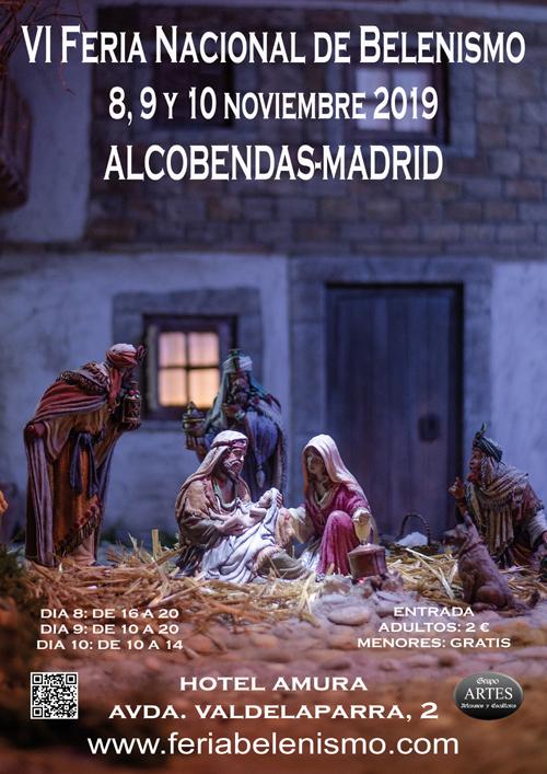 VI Feria Nacional de Belenismo en Alcobendas