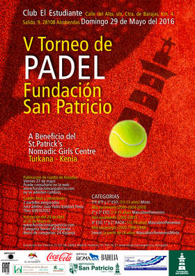 V Torneo de p�del Fundaci�n San Patricio
