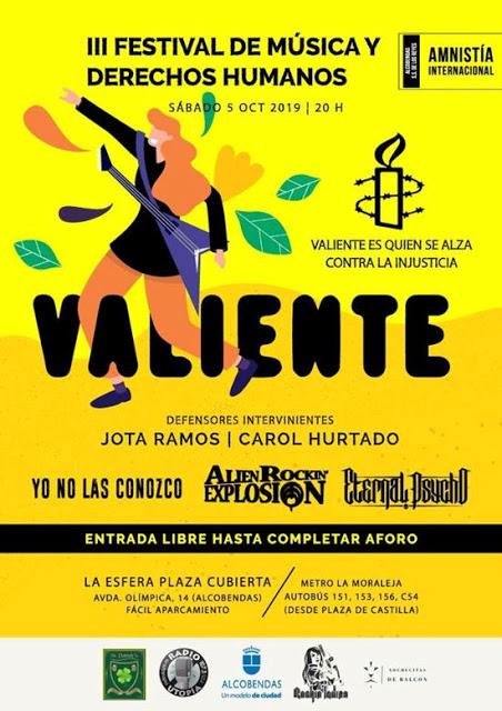 III Festival de Música y Derechos Humanos en Alcobendas