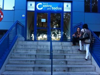 Mercadillo de navidad organizado por la casa regional de Murcia