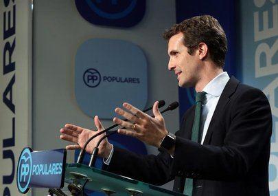 Pablo Casado fue el más votado en Alcobendas y San Sebastián de los Reyes