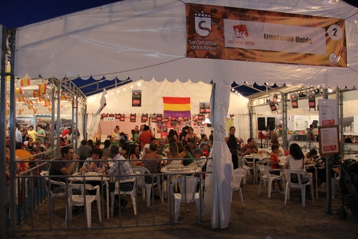 El Gobierno de Sanse decide dejar sin caseta en las fiestas a los partidos políticos