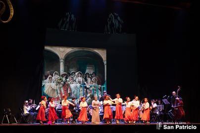 Imagen de una de las representaciones y realizada por el Centro de Arte San Patricio
