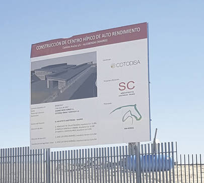 El Centro Hípico de Alto Rendimiento Alcobendas estará terminado en pocos meses