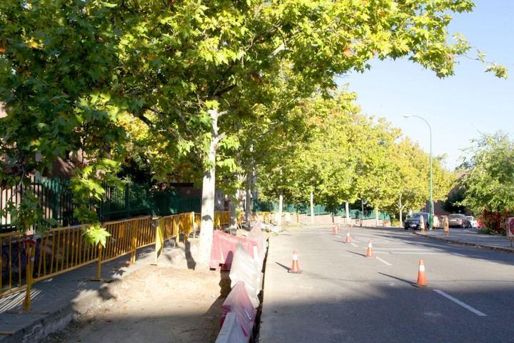 Obras en Cuestablanca para crear 14 plazas de aparcamiento