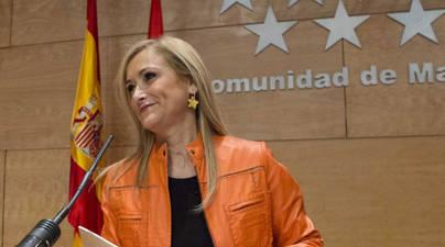 La Presidenta de la Comunidad, Cristina Cifuentes