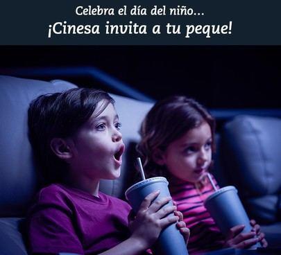 Cinesa celebra el Día del Niño invitando a los más pequeños al cine