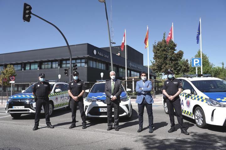La Policía Local de San Sebastián de los Reyes renueva el 80% de su flota con 13 vehículos