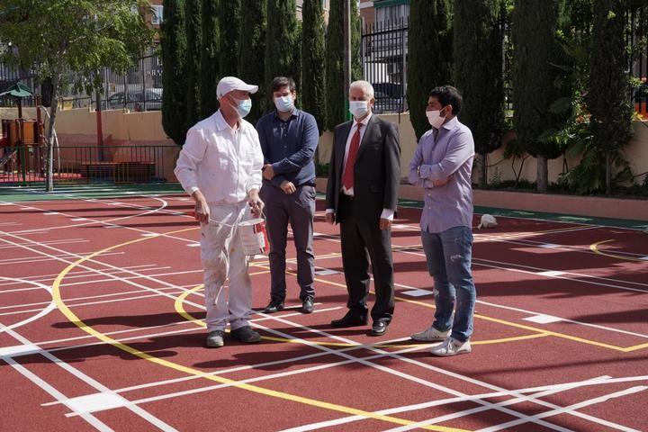 El Ayuntamiento de Sanse culmina las obras y el mantemiento de los centos educativos públicos