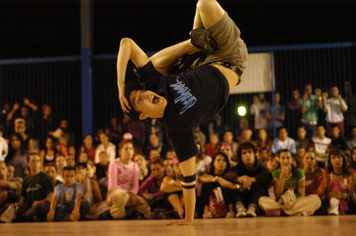 Concurso de Break Dance en La Esfera de Alcobendas