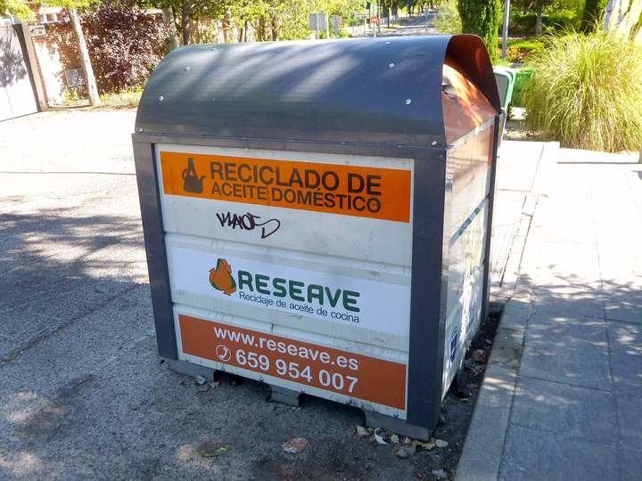 Servicio gratuito de recogida y reciclaje de aceite de cocina usado en Bares y Restaurantes de Alcobendas