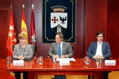 Alcobendas firma un convenio para fomentar el empleo con la empresa Keytron