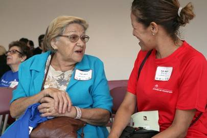 Programa de acompañamiento a personas mayores y dependientes de Alcobendas