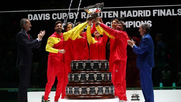 Memorable triunfo de España en la Copa Davis