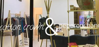 Nueva tienda Cotton Crown & Peperoni Band