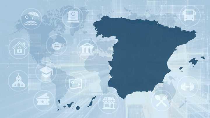 La cifra de fallecidos diarios en España caen hasta 268