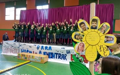 Los Sauces celebró el Día Escolar de la No Violencia y la Paz