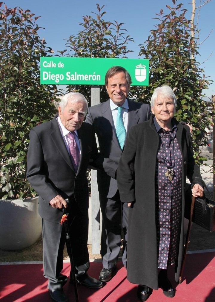 Inauguradas la Glorieta Mary Ward y la calle Diego Salmerón