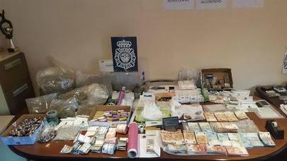 Desarticulada una red criminal de venta de drogas en Alcobendas