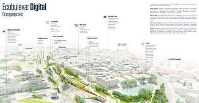 Imagen del plano de las obras facilitado por el Ayuntamiento y  que fue adjudicado a la UTE Fundación Metrópoli y LYNKA