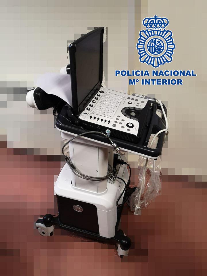 Detenido un trabajador del Hospital Infanta Sofia por robar un ecógrafo
